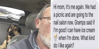 Woman Has Her Dad Babysit Her Dog, 'Gramps' Keeps Her Updated With The Best Texts