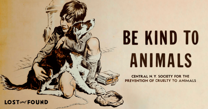 17 Posters From The 1930s, The Age Of Great Depression, That Promote Kindness To Animals PAWS PLANET