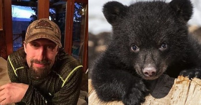 Father And Son Shoot A Hibernating Bear Family In Their Den, Proudly Pose For Photos PAWS PLANET