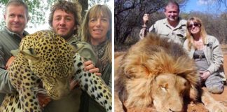 Supermarket Managers Forced To Quit After Hunting Photos Emerge