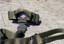 Green Camo k9 Tactical Collar & Leash set