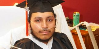 Florida teen battling cancer graduates high school from hospice bed