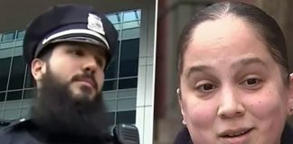 Cop buys groceries for single mom and front-line worker after finding her crying in the street