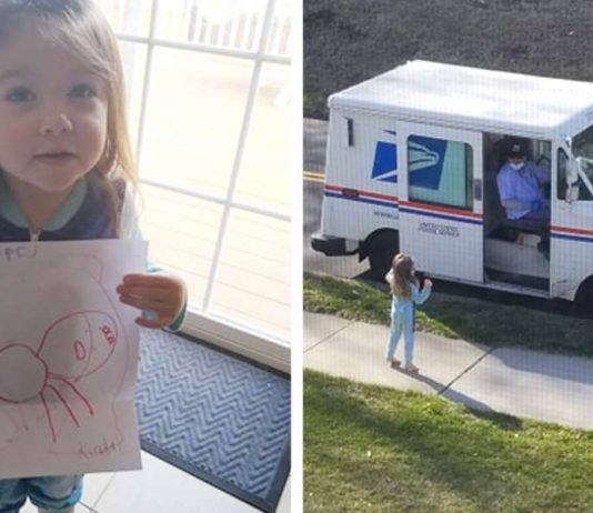 Heartbroken 4-year-old sends letter to her dog in heaven,mailman delivers this cute response